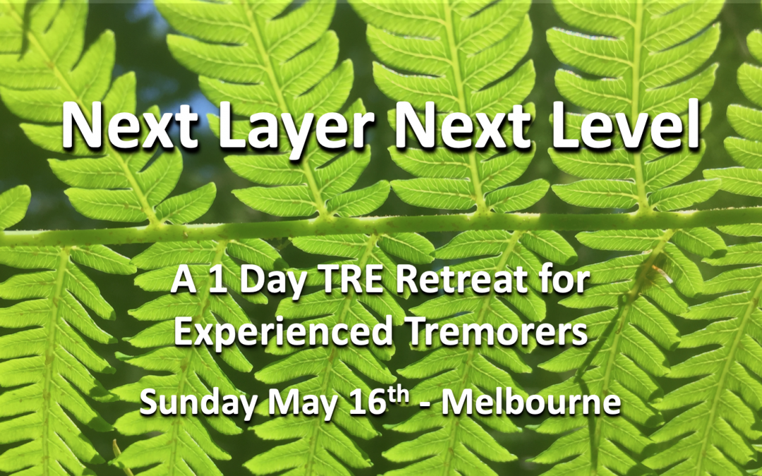 Next Layer Next Level – A 1 Day Retreat For Experienced Tremorers – Sunday May 16th – Melbourne